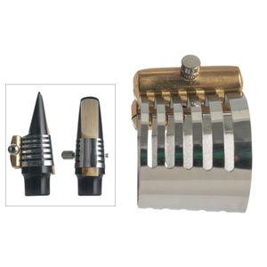Adjustable Screw Alto Tenor Saxophone Mouthpiece Sax Ligature Wind Instruments Parts