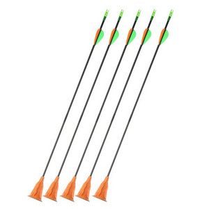 Wholesale free kids glasses resale online - Children Bow and arrow Sucker shooting toy Set fiberglass arrows kids archery takedown bow archery shooting game equipment