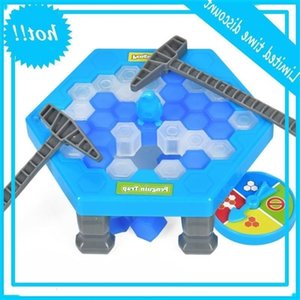 Wholesale ice breaking games resale online - Mini Val Board Break Ice Block Hammer Penguin Trap Children Puzzle Game Entertainment Table Games Kid