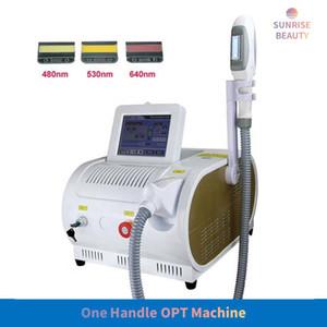IPL Laser Hair Removal Machine Portable SHR OPT Hair Epilator Skin Rejuvenation Beauty Equipment for Salon Use