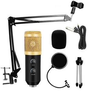 Wholesale usb microphones resale online - bm Condenser Microphone for PC Computer Streams Recording USB Microphone karaoke studio microfono with stand filter1