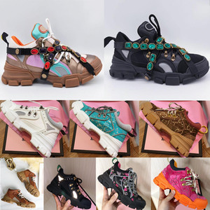 Wholesale women hiking shoe resale online - 2021 New designer sneaker flashtrek with removable women men Unisex trainer mountain climbing shoes mens outdoor hiking boots Ankle Booties