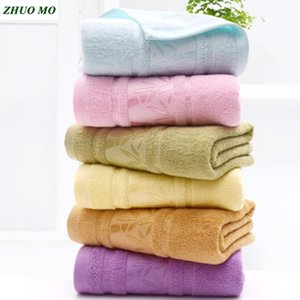 Wholesale bamboo microfiber towel for sale - Group buy 100 Bamboo fiber bath towels Microfiber towel bathroom Men Women Soft Terry towel for adults Super absorbent cloth for home