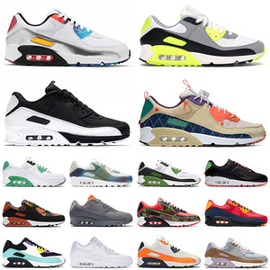ingrosso scarpe da tennis verde mens-max s off white Top s Sport Running Shoes All White Moss Green Grey Trainers Orange Blue Camo Uomo Donna Off Tennis Sneakers
