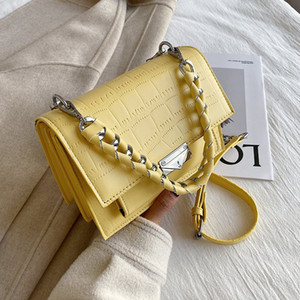 Wholesale textures stone for sale - Group buy HBP Casual Woman Stone Handbags Fashion New Design Purses Bag Quality Texture Shoulder Designer Chain Pattern Crossbody Tnvmc