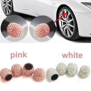 4pcs set Bling Crystal Car Tire Valve Caps 12 Styles Diamond Shining Wheel Caps Vehicle Decoration Automobiles Accessories