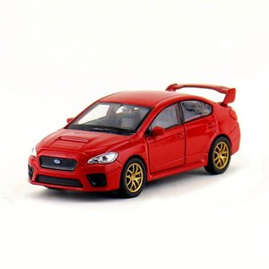 Wholesale subaru impreza for sale - Group buy 1 scale STI Impreza high Subaru imitation WRX alloy model metal car with open door kids toy vehicle