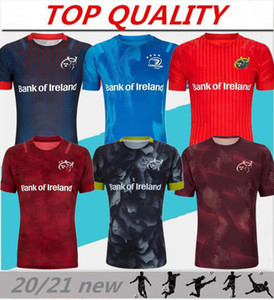 top quality 2020 2021 Munster city Rugby jerseys 19 20 21 MUNSTER city home away men Rugby-Trikots size S-3XL