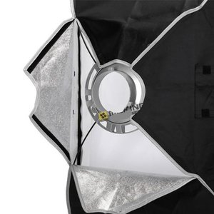 Wholesale light boxes for sale - Group buy Freeshipping Soft box cmx120cm quot x48 quot Strobe Mono light Softbox with Speed ring Bowens Mount photographic Photo Studio Accessories