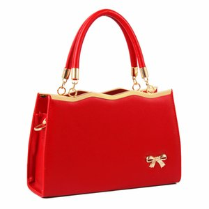 Wholesale bridesmaid bags for sale - Group buy HBP Women s bag wedding bag new wild handbag shoulder Messenger bag female red bridesmaid Shoulder Bags
