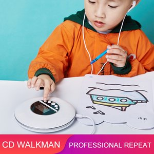 Wholesale good mp3 players for sale - Group buy 2020 Portable CD Player English Repeat CD Player MP3 Music With Headphones Learning Good Assistant