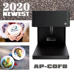 Wholesale best printers resale online - Best D Coffee UV Printer Automatic Digital Latte Art Print On Coffe Cake Printing Machine For Cappuccino Biscuits With Wifi1