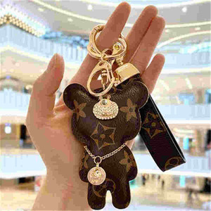 Wholesale s keychains for sale - Group buy 2020 s Fur Ball Keychain Soft Fur Ball Lovely Gold Chains Ball Plush Keychain Car Keyring Bag Earrings Accessories