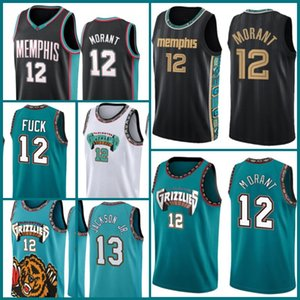 Wholesale memphis basketball for sale - Group buy Memphis Grizzlies Jersey Ja Morant Jerseys Basketball Jaren Jackson Jr Mike Bibby Kevin Durant James Harden Men