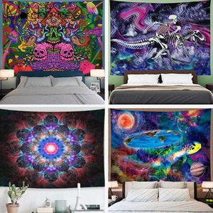 Wholesale designer space for sale - Group buy India Mandala Witchcraft Tapestry Wall Hanging Sun Moon Space Wall Tapestry Wall Carpet Psychedelic Tapiz Cloth Tapestries