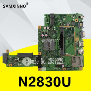 Wholesale motherboards resale online - Original X453MA X403MA motherboard For Asus Main board REV2 DDR3 N2830 Tested NB04W0 MB2000 Test Well1