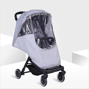 Wholesale umbrella trolley baby for sale - Group buy Baby Stroller Baby Stroller Windshield Trolley Accessories Waterproof Raincoat Cover Trolley Umbrella Car Rain Cover1