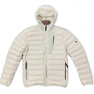 20FW heated Winter lightweight hooded down jacket casual trendy jacket Hooded cap blackpufferjacket mensteddycoat Sleeveless vest