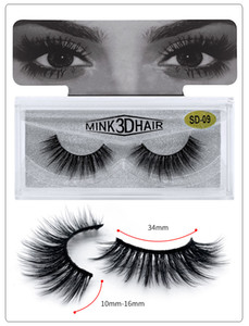 Wholesale curl mix for sale - Group buy Hot Sale Mink False Eyelashes False Lashes Natural False Eyelashes Long Set faux Cils Bulk Makeup Lashes Different Style