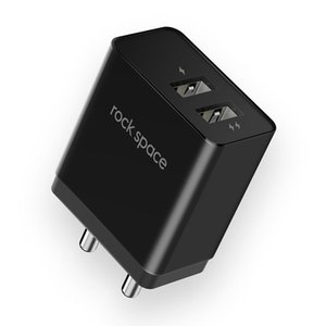 portos rocosos venda por atacado-Porto Travel Charger Power Adapter ROCHA T8 A Duplo USB