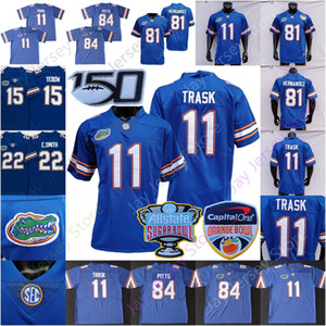 gators fußball großhandel-2020 NCAA Florida Gators Football Jersey College Kyle Pitts Aaron Hernandez Tim Tebow Emmitt Smith Kyle Trask Trikots Zuhause