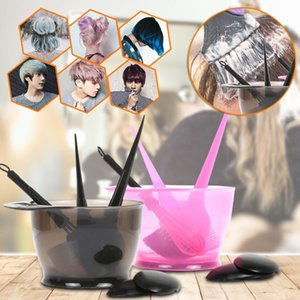 Wholesale salon hair color sets for sale - Group buy Hair Coloring Dyeing Kit Color Brush Comb Mixing Bowl Salon Tint Tool Set Hair Color Brushes Professional Hairdressing Tools