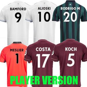 FAN PLAYER VERSION 20 21 Leeds soccer jersey United 2020 2021 Raphinha RODRIGO Koch COSTA Alioski Phillips BAMFORD LLORENTE R football shirt