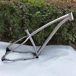 "Best Quality !!! PYTITANS Titanium Fat bike frame 26"" 197 Hub Snow Bike Frame Titanium Alloy Material Factory Directly Selling"