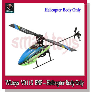 Wholesale flybarless helicopter resale online - WLtoys V911S BNF G CH Aixs Gyro Flybarless RC Helicopter Only Without Remote Controller1