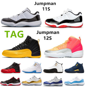 Wholesale elastic basketball shoes for sale - Group buy Flu University Gold s th Mens Womens Basketball Shoes Bred s Dark Concord Trainers Union Album Sports Sneakers