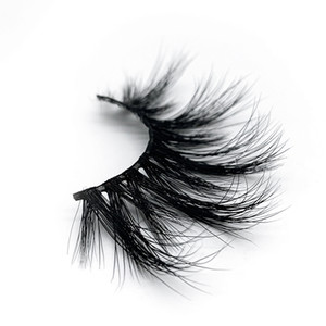 100 Real Mink eyelash 25MM 3D Makeup lash Soft Natural Long Thick Dramatic Fake eyelashes extension eyelash Beauty Tools 15 styles wholesale