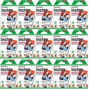 Wholesale instax cameras for sale - Group buy 10 sheets instax mini film white Edge Inch wide film for Instant Camera mini s s Photo paper1