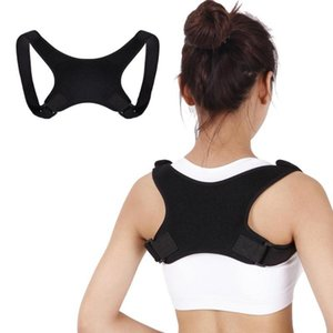 Wholesale shoulder support belt women for sale - Group buy New Posture Correction Shoulder Strap Support Belt Men Women Back Posture Corrector Adjustable Therapy Lumbar Brace Spine