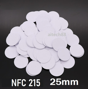 Wholesale mobile chips for sale - Group buy Security NFC Sticker CHIP Coin Tag mm Card NFC Forum Type Tag Bytes for All NFC Mobile Phone For Access Control Locking system