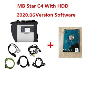 ingrosso migliore qualità c4 mb stelle-2020 MIGLIORE QUALITÀ MB STAR C4 con ultimo software completo GB HDD MB SD Connect Compact Strumento diagnostico DHL Spedizione gratuita