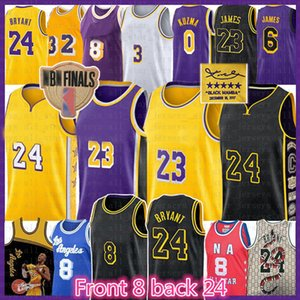 LeBron 23 6 James Basketball Jersey Shaquille Earvin O'Neal Johnson Los Angeles