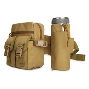 ingrosso imballaggio del sacchetto di pesca-Uomini Tactical BAG BAG BOTTIGLIA ACQUA BOTTIGLIA FANNY PACK CINTURA NYLON Bum Bag per escursioni per esterni Escursionismo Pesca Sport Sports Hunting1