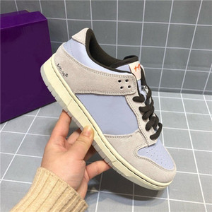 Wholesale volleyball lowest resale online - Hot Travis Scott x Playstation Game Women Shoes Skateboard Shoes New Low Trainer Mens Sports Sneakers