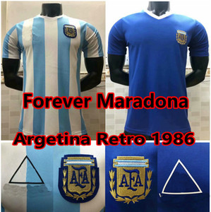 Wholesale soccer argentina for sale - Group buy 1978 Argentina Maradona retro soccer jerseys maradona Football Shirt argentina maillot de foot men kids set camisetas de fútbol