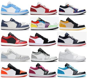 lichter-laser  großhandel-Neue SB s Niedrig UNC Gym Red Paris Triple White Magenta Glühbirne Ember Glow Laser Blau Black Toe Light Smoke Grey University Gold Männer Schuhe