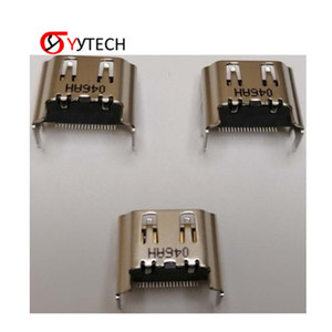 Wholesale connector products resale online - SYYTECH HDM i Port Jack Socket Interface Connector Original HDMI Port for PS4 PlayStation Game Component Hot sale products