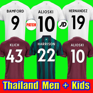 phillips trikot  großhandel-20 Bamford Soccer Jerseys United Rodrigo Koch Costa Alioski Phillips Männer Kindertraining Football Hemd Thailand