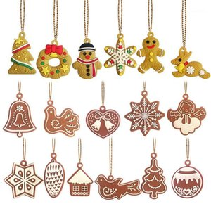 Wholesale chrismas decoration tree for sale - Group buy 6 Christmas Deer Snowman Doll Chrismas Tree Decorations Pendant Ornaments New Year Christmas Decorations Happy New Years1