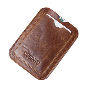 Wholesale school id card holder resale online - Leather Badge Holder Card Slots Premium Leather ID Holder for Office School ID Credit Cards Driver Lic