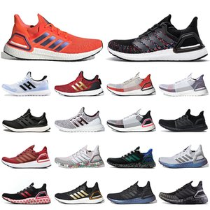ingrosso oro incollato-adidas ultraboost ultra boost ISS US National Lab Solar Red legame Ultraboost donne Mens calza il formato superiore Black Gold Jogging Mens Sneakers Trainers