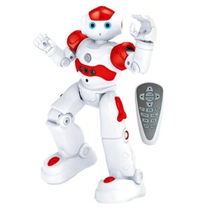 Wholesale robotic toys resale online - Educational Intelligent RC Robot Toys for Children Remote Control Programmable Robotics Toy Kids Gifts