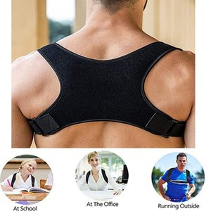 Wholesale back pain band for sale - Group buy S M L XL Posture Corrector Back Support Belt Shoulder Bandage Back Spine Posture Correction Humpback Band Corrector Pain Relief