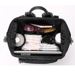 conjunto de enfermería de maternidad al por mayor-5pcs set Mummy Maternity Gran capacidad Nappy Travel Backpack Nursing para Baby Care Women Fashion Bag