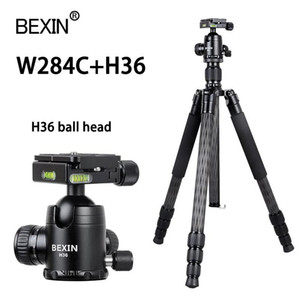 Wholesale video carbon fiber for sale - Group buy Carbon Fiber Tripod Video Tripod Professional Photo Travel Portable lightweight Camera stand For DSLR Camera