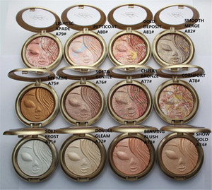 Makeup Face Highlighting Powder Palette Cosmetic 12 colors free shipping